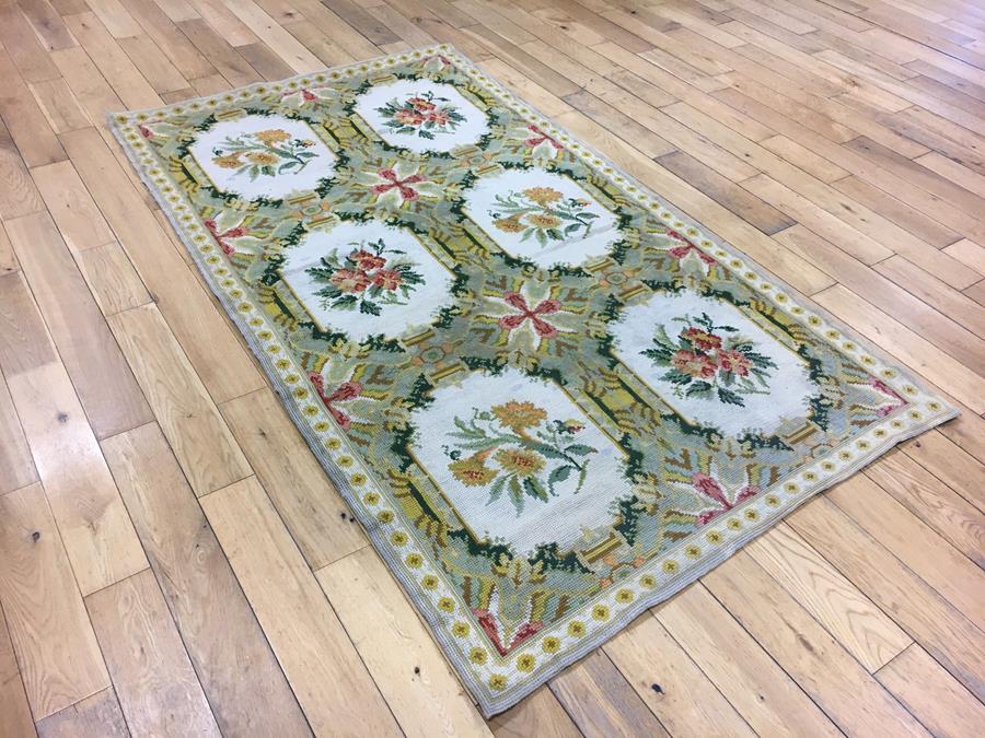 Portuguese Needlepoint Rug 6496 The Oriental Rug Place