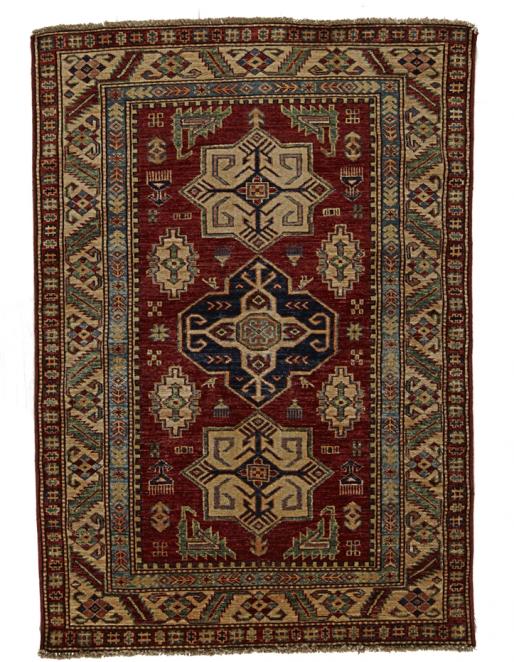 Fine Kazak Oriental Rug – 6055