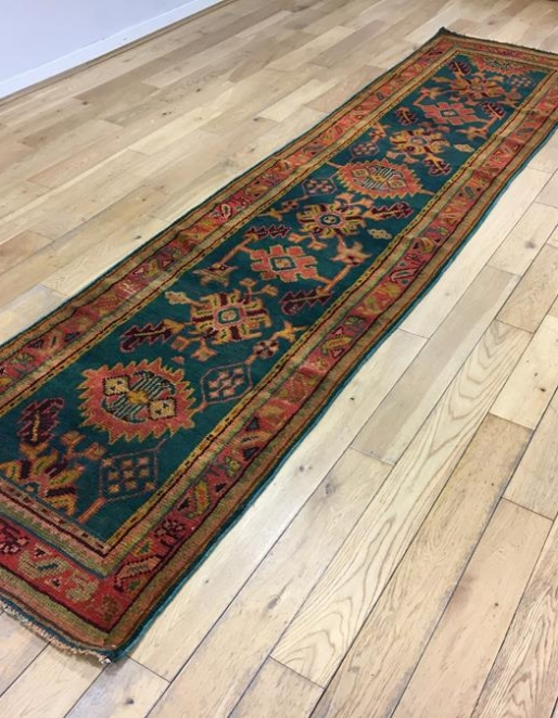 Exceptionally Long Turkish Ushak Runner Ref 6510