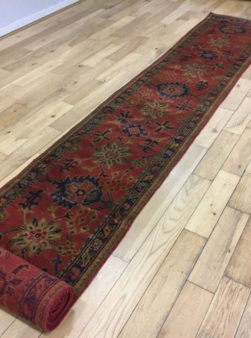 Exceptionally Long Turkish Ushak Runner Ref 6511