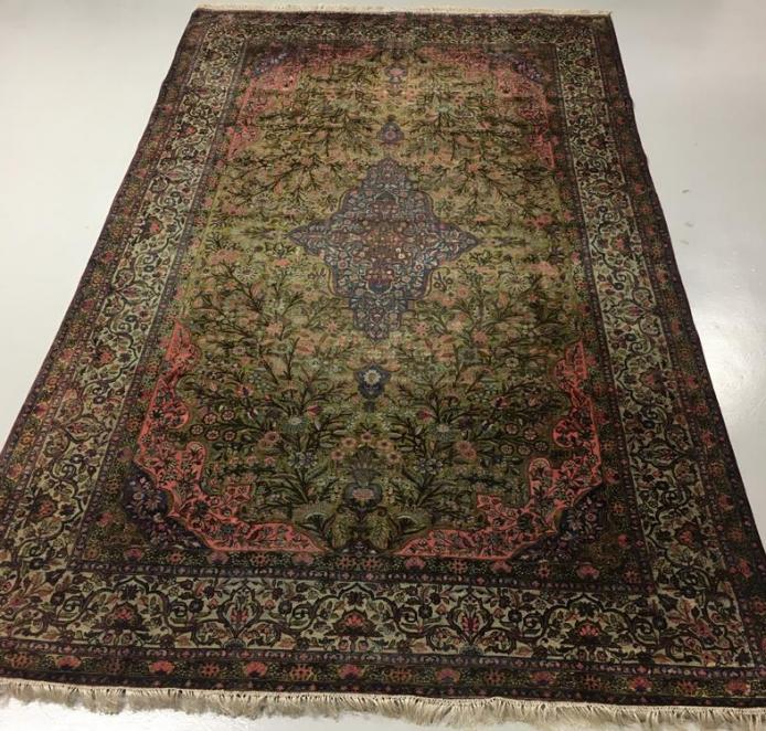 Persian Silk Kashan Carpet Ref: 6602