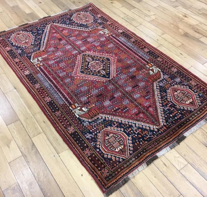 Qashqai Persian Rug – 5914