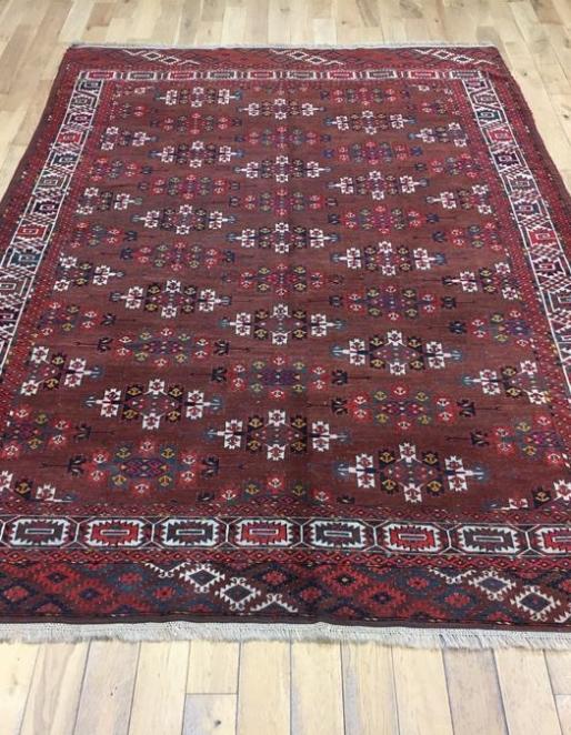 Fine Turkmen Yomut Rug Ref 6450