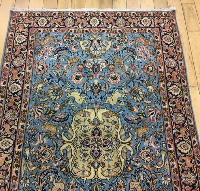 North West Persian Tabriz Hunting Rug Ref 6542