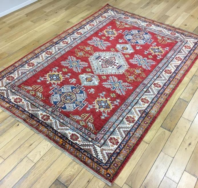 Super Kazak Oriental Rug Ref 6558