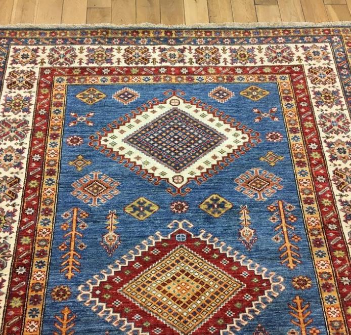 Super Kazak Oriental Rug Ref 6564