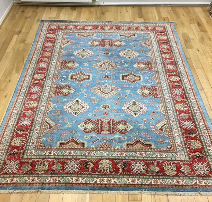 Super Kazak Oriental Rug Ref 6565