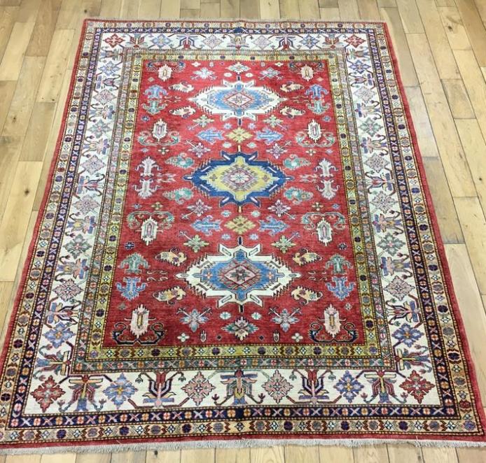 Super Kazak Oriental Rug Ref 6566