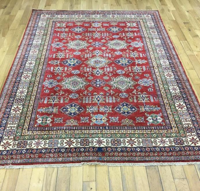 Super Kazak Oriental Rug Ref 6569