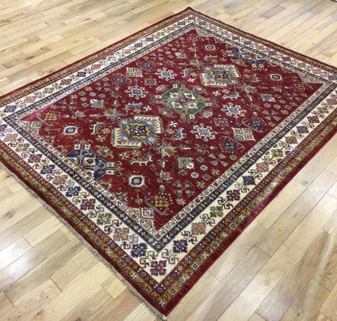 Super Kazak Oriental Rug Ref 6571