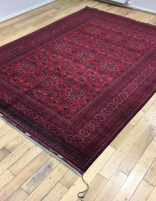 Khal Mohammadi Afghan Rug 6574