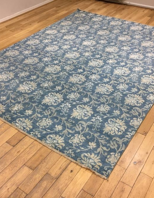 Floral Motif Contemporary Carpet Ref 6593