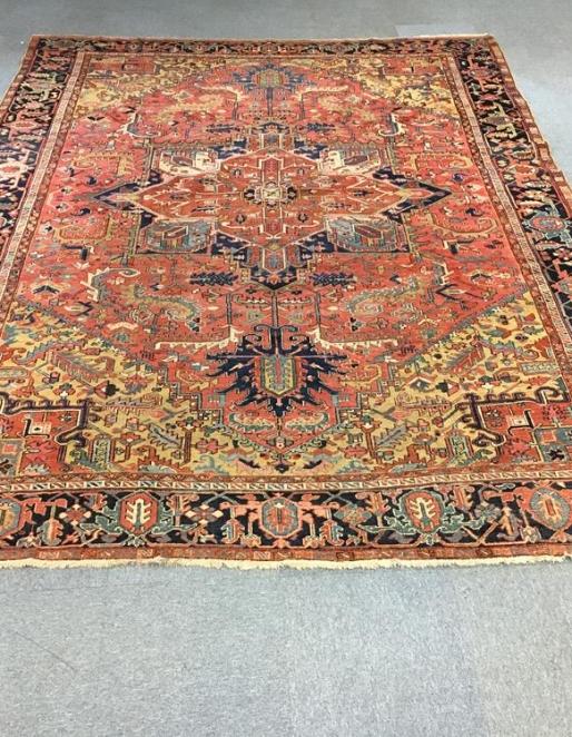 North West Persian Heriz Rug Ref: 6603