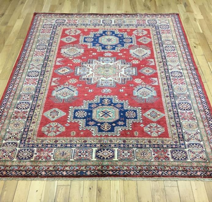 Super Kazak Oriental Rug Ref 6554