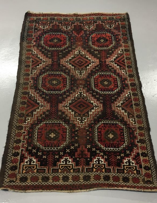 Turkmen Ersari rug Ref: 6589