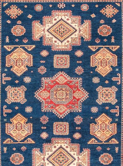 Fine Kazak Oriental Rug – 6427