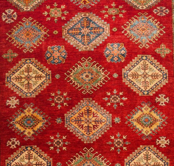 Fine Kazak Oriental Rug Ref 6401